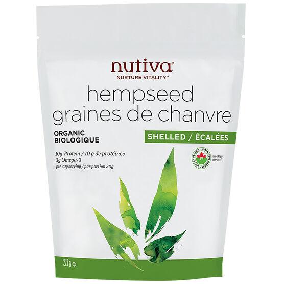 Nutiva Organic Hempseed - Shelled - 227g