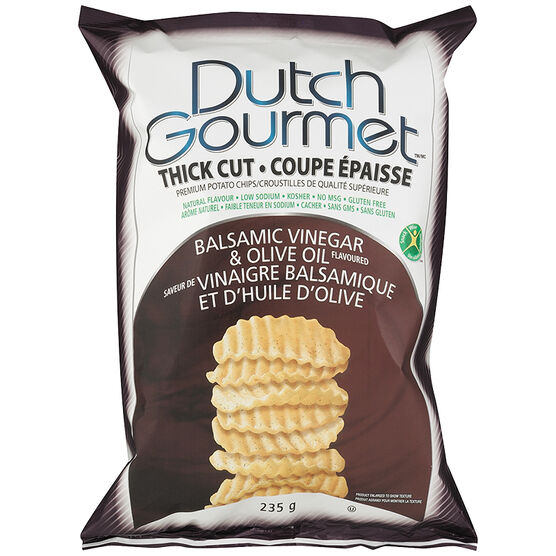 Dutch Gourmet Chips - Balsamic and Olive Oil - 235g