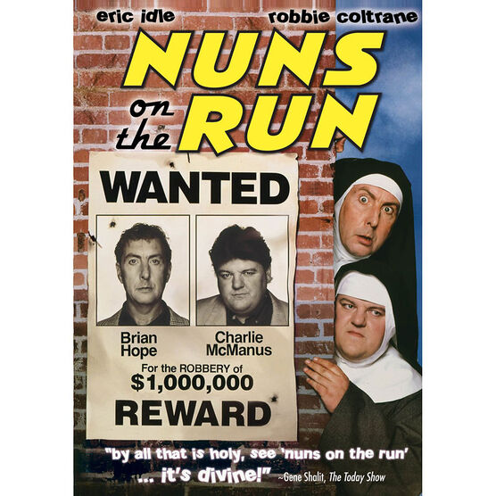 Nuns On The Run - DVD