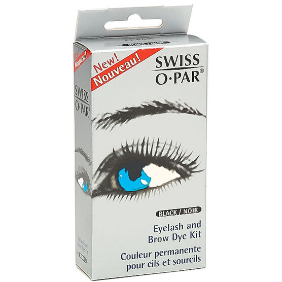 Swiss O-Par Eyelash and Brow Dye Kit - Black