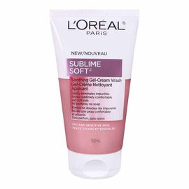 L'Oreal Sublime Soft Soothing Gel Cream Wash - 150ml