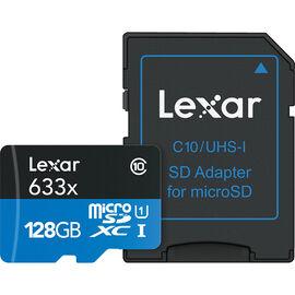 Lexar 633X microSDXC Card - 128 GB - LSDMI128BBNL633A