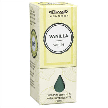 Relaxus Aromatherapy 100% Pure Essential Oil - Vanilla - 10ml