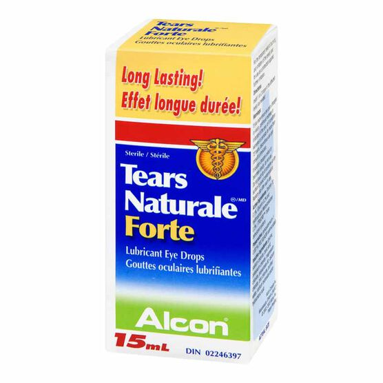 Alcon Tears Naturale Forte Eye Drops - 15ml