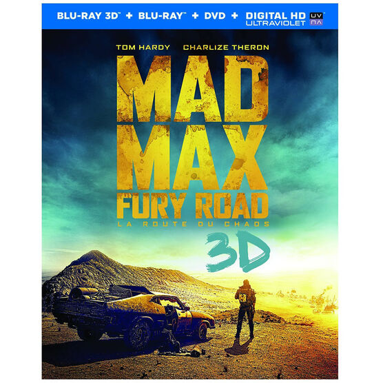 Mad Max: Fury Road - 3D Blu-ray