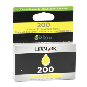 Lexmark 200 Ink Cartridge - Yellow - 14L0649