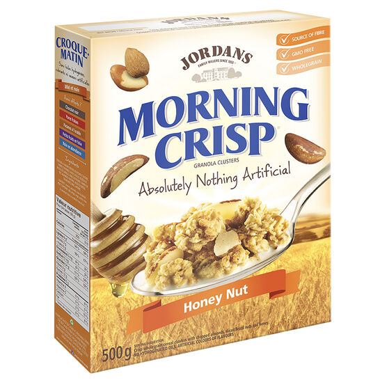 Jordan's Morning Crisp Cereal - Honey Nut - 500g