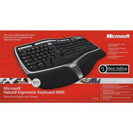 Microsoft Natural Ergonomic 4000 Keyboard