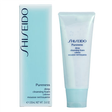 Shiseido Pureness Deep Cleansing Foam - 100ml