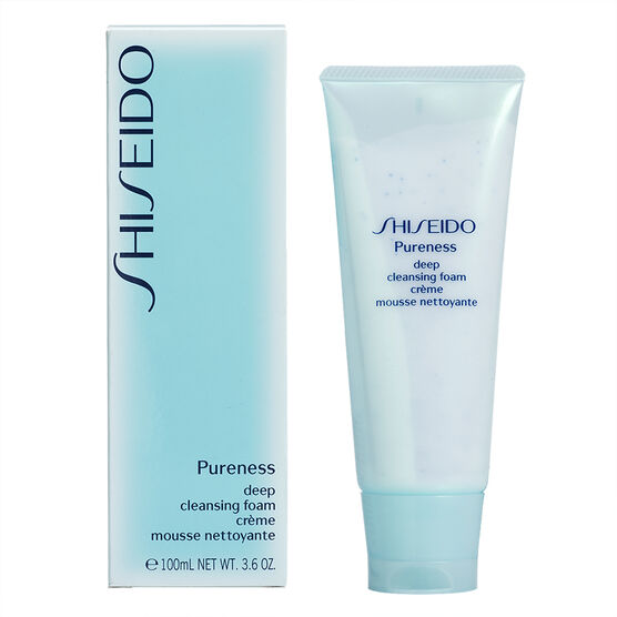 Shiseido Pureness Deep Cleansing Foam - 100ml