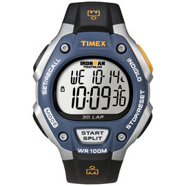 Timex Ironman Full Size Watch - Blue/Black - 5E931