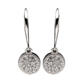 Eliot Danori Costume Earrings - Circle Pavé