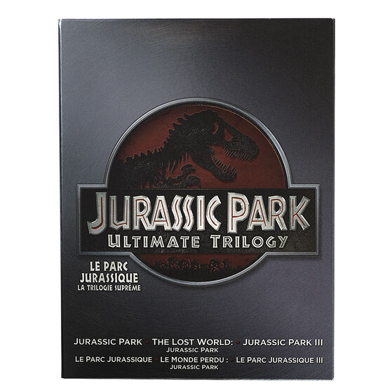 Jurassic Park Ultimate Trilogy - DVD
