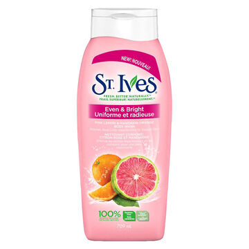 St. Ives Even & Bright Body Wash -  Pink Lemon & Mandarin Orange - 150ml