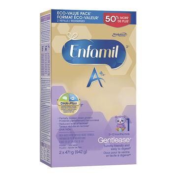 Enfamil Gentlease A+ Powder Refill - 942g