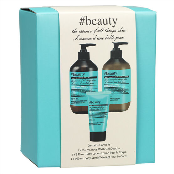 Hash Tag Box Gift Set - Ocean Breeze - 3 piece
