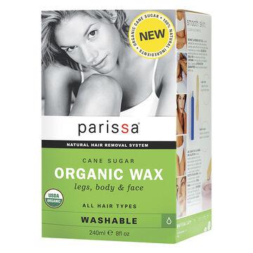 Parissa Organic Wax Natural Hair Removal System - 240ml