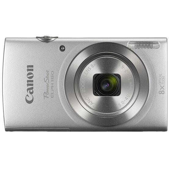 Canon PowerShot ELPH 180 - Silver - 1093C001