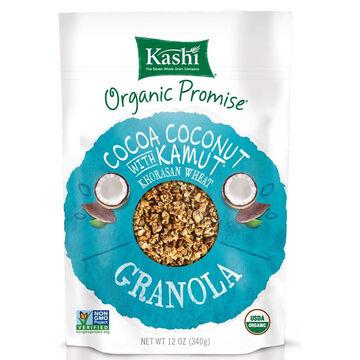 Kashi Organic Promise Granola - Cocoa Coconut with Kamut - 311g