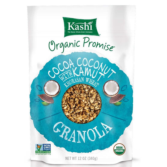 Kashi Organic Promise Granola - Cocoa Coconut with Kamut - 311g