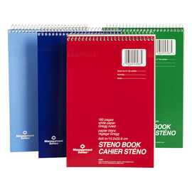 Mead Ruled Steno Notebook - 6 x 9 inch - 160 pages