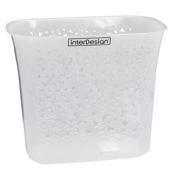 InterDesign Blumz Wastebasket - Clear