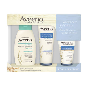 Aveeno Active Naturals Winter Care Gift Collection - 3 piece