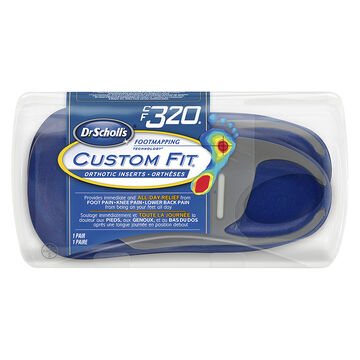 Dr. Scholl's Custom Fit Orthotic Insoles - CF320 - M8.5/W9.5