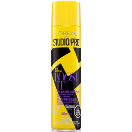 L'Oreal Studio Pro Boost It Pro Volume Hairspray - Extra Strong Hold - 400g