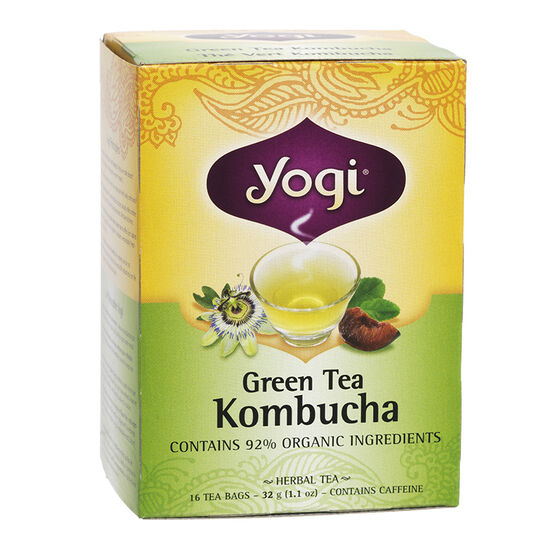 Yogi Tea - Green Kombucha - 16's