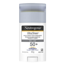 Neutrogena Ultra Sheer Face & Body Stick - SPF50+ - 42g