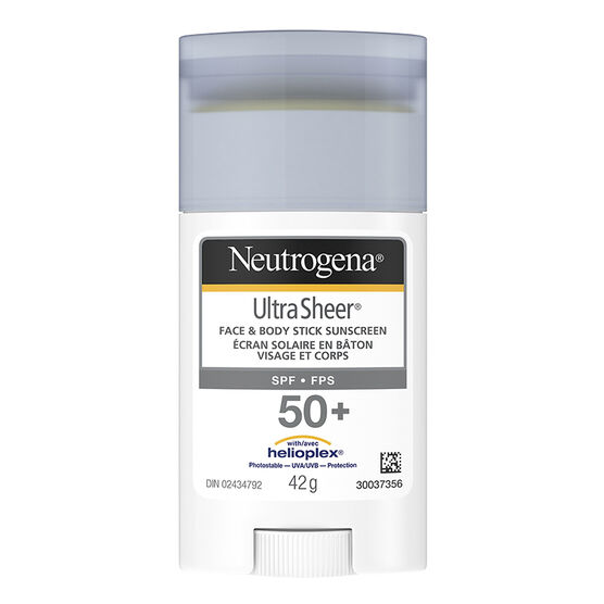 Neutrogena Ultra Sheer Face & Body Stick - SPF50+ - 42g
