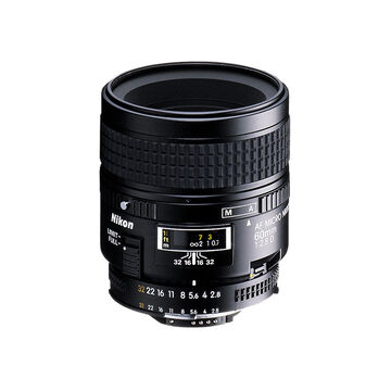 Nikon AF Micro-Nikkor 60mm f/2.8 D Lens