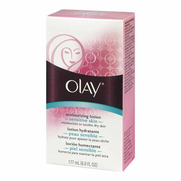 Olay Moisture Therapy Lotion with Aloe - Sensitive Skin - 177ml