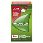 Nicorette Coated Gum with Whitening - Cinnamon - 2mg - 105's