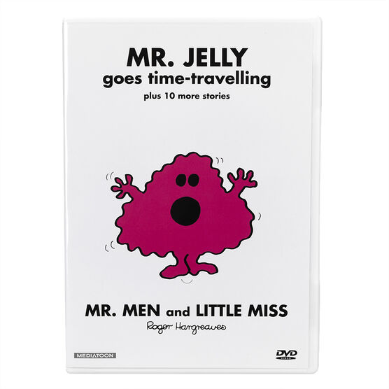 Mr. Jelly Goes Time-Travelling - DVD