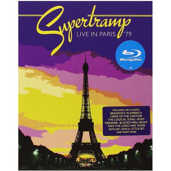 Supertramp - Live In Paris '79 - Blu-ray