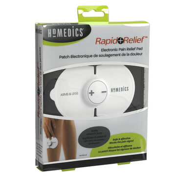 Homedics Rapid Relief Electronic Pain Relief Pad for Arms and Legs - HW-P100-CA