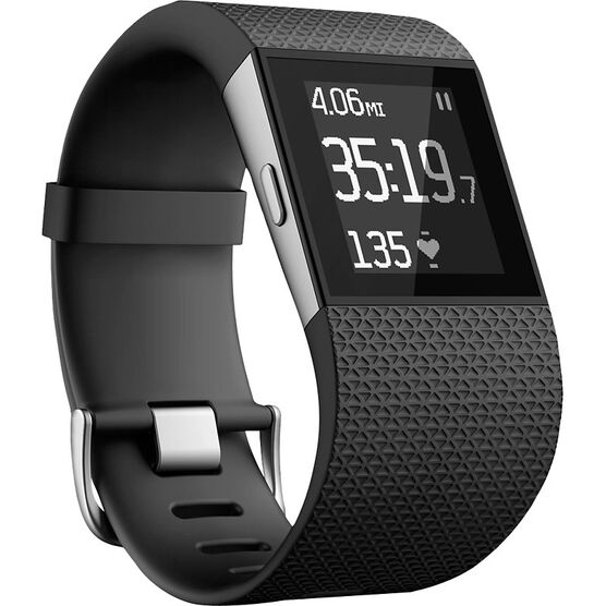 Fitbit Surge - Black - Large