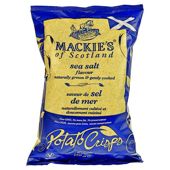 Mackie's of Scotland Potato Crisps - Sea Salt - 150g