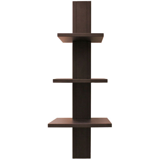 Alton Wall Shelf - Java - 3 Tier