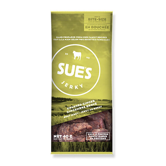 Sue's Jerky - Ginger Beef - 40g