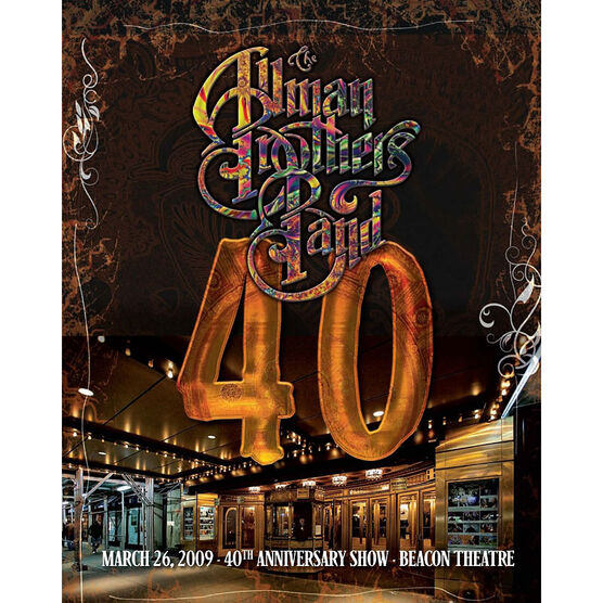 The Allman Brothers Band - 40th Anniversary Show - DVD