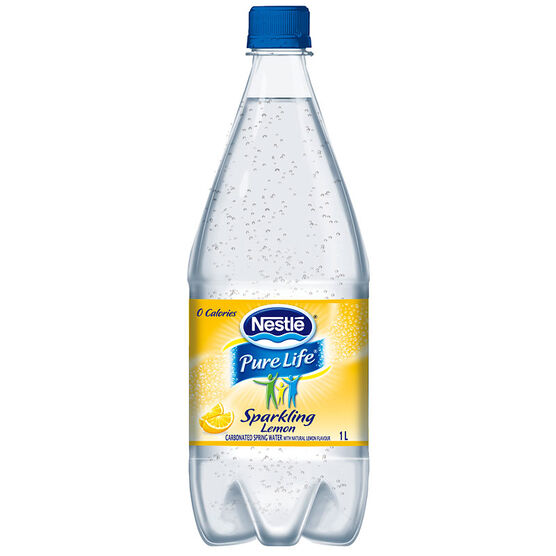 Nestle Sparkling Water - Lemon - 1L