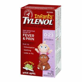 Tylenol* Infant Drops Grape - 15ml - Dye Free