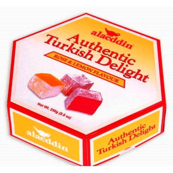 Alaeddin Turkish Delight - Rose & Lemon - 250g