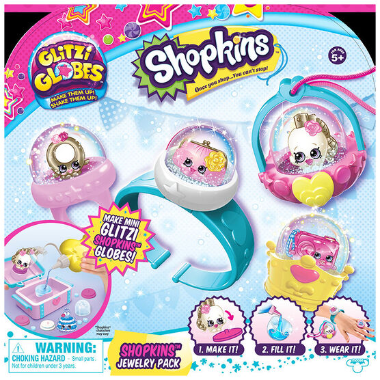 Shopkins Glitzi Globes Jewelry Pack