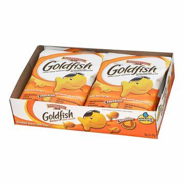Pepperidge Farm Goldfish Baked Snack Crackers - Snack Pack - 6 x 28g