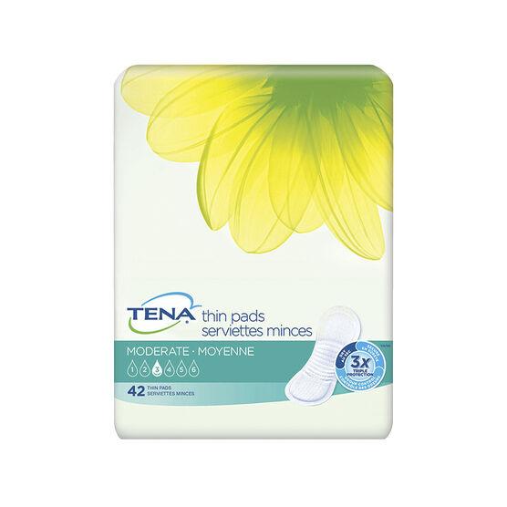 Tena Ultra Thins Moderate Pads - Regular - 42's