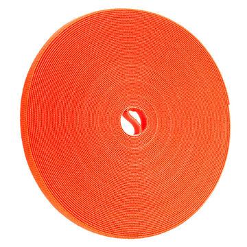 Certified Data 1/2-inch Velcro Wrap - 75 feet - Orange